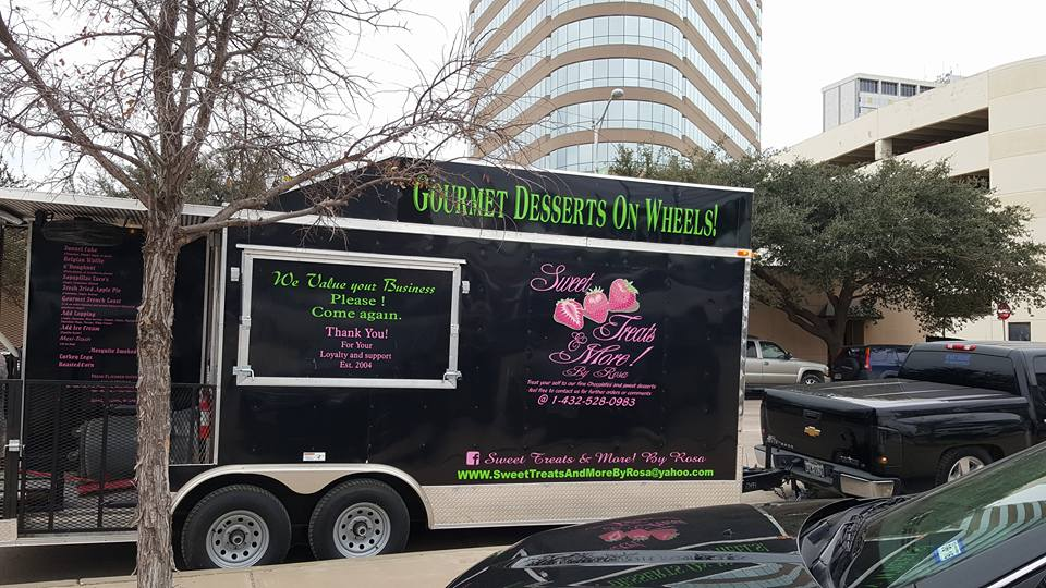 Sweet Treats and More Midland Texas Food Truck